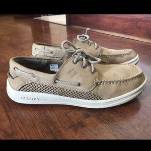 Mens Sperry Leather Boat Shoes size 10.5